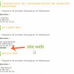 Votre site Internet sur magasinbio.org